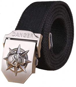 Cinturones de calaveras