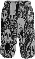Pantalones de calaveras cortos